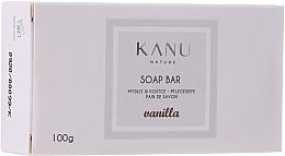 """Profumi e cosmetici Saponetta """"Vaniglia"""" per mani e corpo - Kanu Nature Soap Bar Vanilla"""