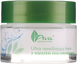 Profumi e cosmetici Crema ultraidratante con acido ialuronico - AVA Laboratorium Ultra Moisturizing Hyaluronic Cream