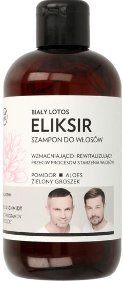 """Shampoo rinforzante e rigenerante all'elisir per capelli """"White Lotus"""" - WS Academy"""