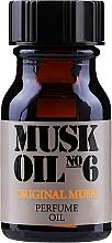 Profumi e cosmetici Olio profumato unisex per il corpo - Gosh Musk Oil No.6 Perfume Oil