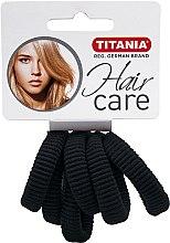 Profumi e cosmetici Elastico per capelli, nero - Titania