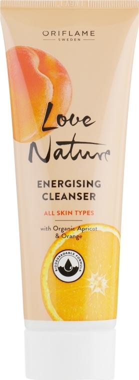 "Detergente viso ""Albicocca e Arancia"" - Oriflame Love Nature Energising Cleanser"