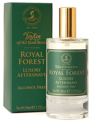 Taylor of Old Bond Street Royal Forest Aftershave Lotion - Lozione dopobarba