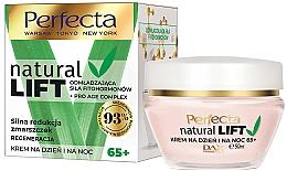 Profumi e cosmetici Crema viso rigenerante antirughe 65+ - Perfecta Natural Lift Regenerating Anti-wrinkle Cream
