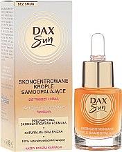 Profumi e cosmetici Concentrato autoabbronzante - Dax Sun Self-tanning Concentrated Drops