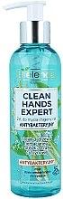 Profumi e cosmetici Gel antibatterico detergente per mani - Bielenda Clean Hands Expert Antibacterial Hands Washing Gel (con dosatore)