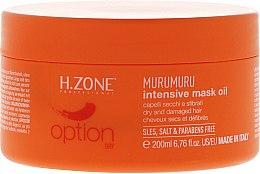 Profumi e cosmetici Maschera capelli - H.Zone Murumuru Intensive Mask Oil
