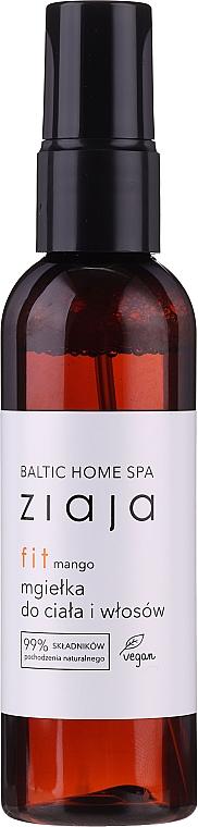 """Spray per capelli e corpo """"Mango"""" - Ziaja Baltic Home Spa FIT Mango Body and Hair Mist"""
