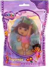 """Profumi e cosmetici Spugna per bambini """"Dora"""", 169-12, rosa - Suavipiel Dora Bath Sponge"""