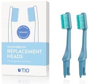 Testine di ricambio per spazzolino, setole medie, blu - TIO Toothbrush Medium — foto N1