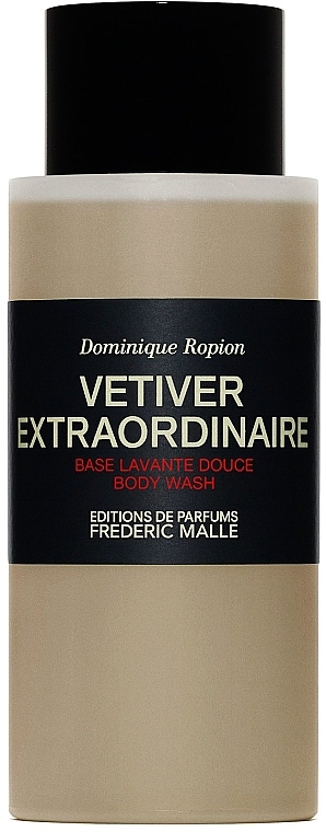 Frederic Malle Vetiver Extraordinaire Body Wash - Bagnoschiuma — foto N1