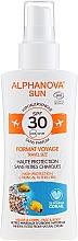 Profumi e cosmetici Spray solare - Alphanova Sun Bio SPF30 Spray Voyage