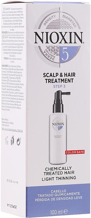 Trattamento nutriente per il cuoio capelluto - Nioxin Thinning Hair System 5 Scalp Treatment — foto N1