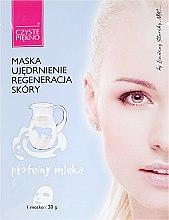 Profumi e cosmetici Maschera viso con proteine del latte - Czyste Piekno Face Mask