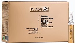 Profumi e cosmetici Lozione anticaduta pantenolo e placenta - Black Professional Line Panthenol & Placenta Lotion