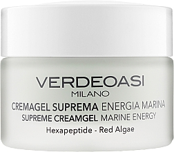 "Profumi e cosmetici Crema-gel ""Energia marina"" - Verdeoasi Supreme Creamgel Marine Energy"