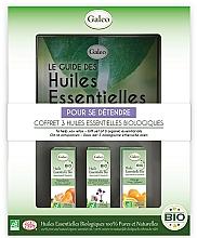 "Profumi e cosmetici Set di oli essenziali ""Relax"" - Galeo To Help You Relax Gift Set (ess/oil/3x10ml)"
