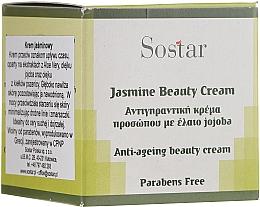 Profumi e cosmetici Crema anti-età al gelsomino per viso - Sostar Jasmine Anti-Aging Beauty Cream