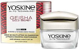 Profumi e cosmetici Crema antirughe multi-lifting - Yoskine Geisha Gold Secret Anti-Wrinkle & Multi-Lift 3D Cream
