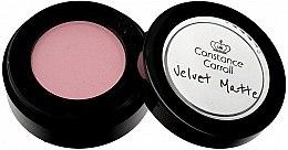 Profumi e cosmetici Ombretto opaco - Constance Carroll Velvet Matte Mono Eyeshadow