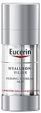 Profumi e cosmetici Siero-peeling da notte - Eucerin Hyaluron-Filler Peeling & Serum Night