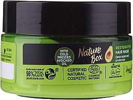Profumi e cosmetici Maschera capelli intensiva - Nature Box Avocado Oil Maska