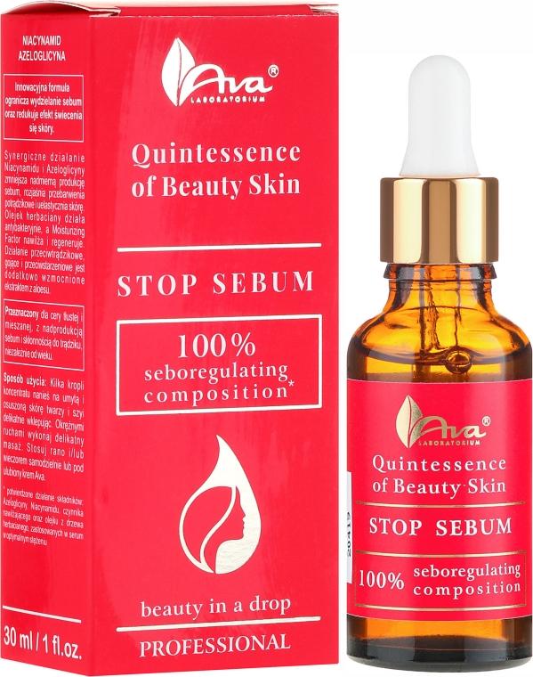 Siero viso - Ava Laboratorium Quintessence Of Beauty Stop Sebum Serum