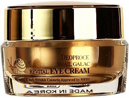 Profumi e cosmetici Crema contorno occhi alla bava di lumaca - Deoproce Snail Galac-Tox Revital Eye Cream