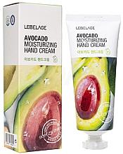 Profumi e cosmetici Crema mani con estratto di avocado - Lebelage Avocado Moisturizing Hand Cream