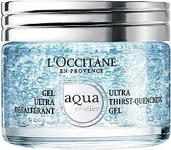 Profumi e cosmetici Gel viso ultra-idratante - L'Occitane Aqua Reotier Ultra Thirst-Quenching Gel