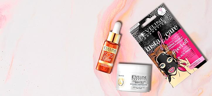 Acquistando prodotti Eveline Cosmetics da 9 €, ricevi un regalo