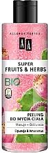 """Profumi e cosmetici Peeling corpo """"Opuntia e amaranto"""" - AA Super Fruits & Herbs"""