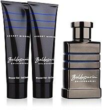 Profumi e cosmetici Baldessarini Secret Mission - Set (edt 50ml + s/g 50ml + s/g 50ml)
