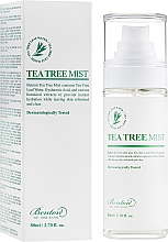 Profumi e cosmetici Spray viso con estratto di melaleuca - Benton Tea Tree Mist