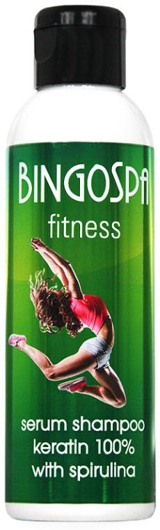 Shampoo-siero 100% cheratina con spirulina Fitness - BingoSpa Serum Shampoo Keratin 100% With Spirulina Fitness