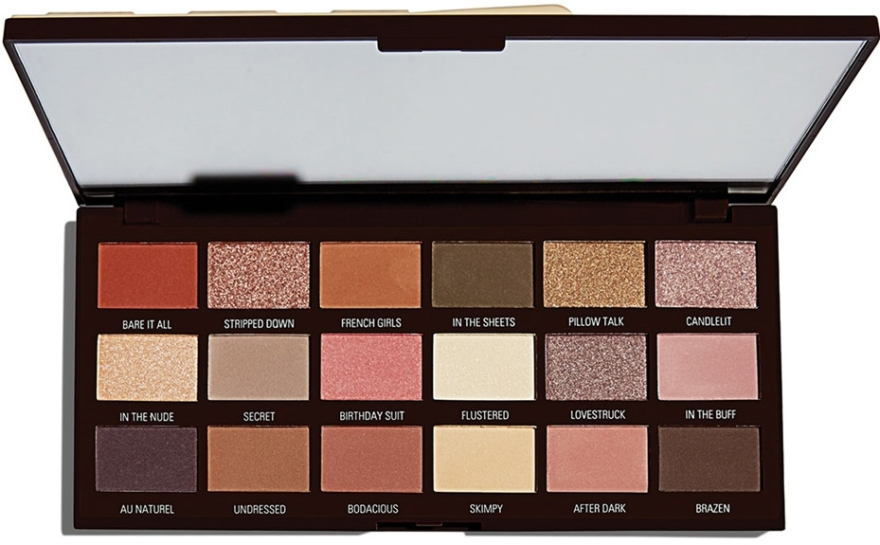Palette ombretti, 18 tonalità - I Heart Revolution Chocolate Palette