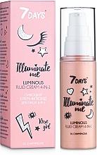 Profumi e cosmetici Crema-fluido viso illuminante 4in1 - 7 Days Illuminate Me Luminous Fluid Cream 4in1