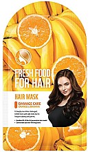Profumi e cosmetici Maschera alla banana e arancia per capelli danneggiati - Superfood For Skin Fresh Food For Hair