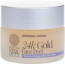 Profumi e cosmetici Peeling viso all'oro - Natura Siberica Fresh Spa Imperial Caviar Rejuvenating Golden Face Peel 24K Gold