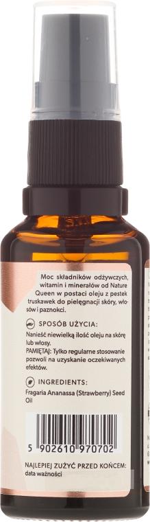 Olio di semi di fragola - Nature Queen Strawberry Seed Oil — foto N2