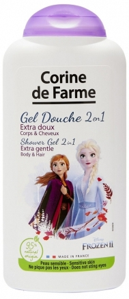 "Shampoo e gel doccia 2in1 ""Anna ed Elsa"" - Corine de Farme Frozen"
