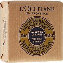 """Profumi e cosmetici Sapone delicato """"Burro di karitè"""" - L'Occitane Shea Butter Extra Gentle Soap-Milk"""