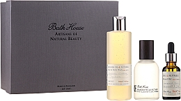 Profumi e cosmetici Bath House Spanish Fig and Nutmeg - Set (edc/100ml + sh/gel/260ml + oil/30ml)