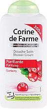 """Profumi e cosmetici Crema Doccia """"Mirtillo Rosso"""" - Corine De Farme Shower Cream"""