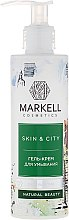 "Profumi e cosmetici Gel-crema detergente ""Fungo di neve"" - Markell Cosmetics Skin&City Face Mask"