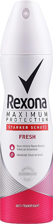 Deodorante antitraspirante spray - Rexona Maximum Protection — foto N1