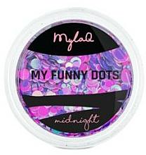 Profumi e cosmetici Paillettes per unghie - MylaQ My Funny Dots