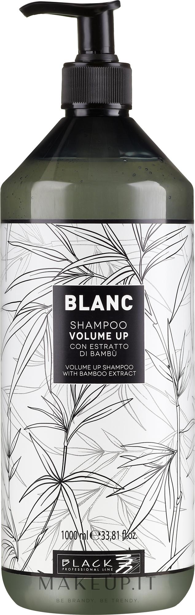 Shampoo per volume dei capelli - Black Professional Line Blanc Volume Up Shampoo — foto 1000 ml