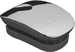 Profumi e cosmetici Pettine - Ikoo Pocket Oyster Metallic Black