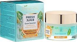 Profumi e cosmetici Crema idratante con acqua di agrumi - Bielenda Fresh Juice Booster